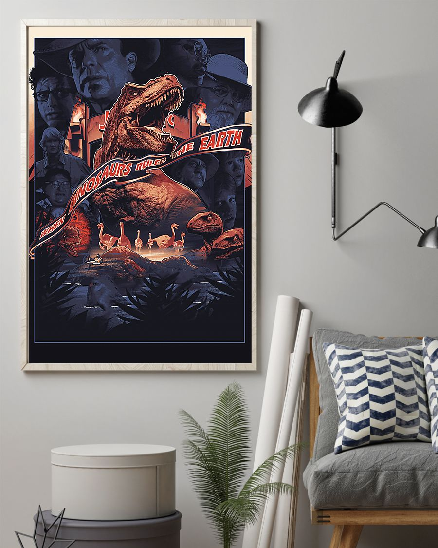 When dinosaurs ruled the earth poster 1