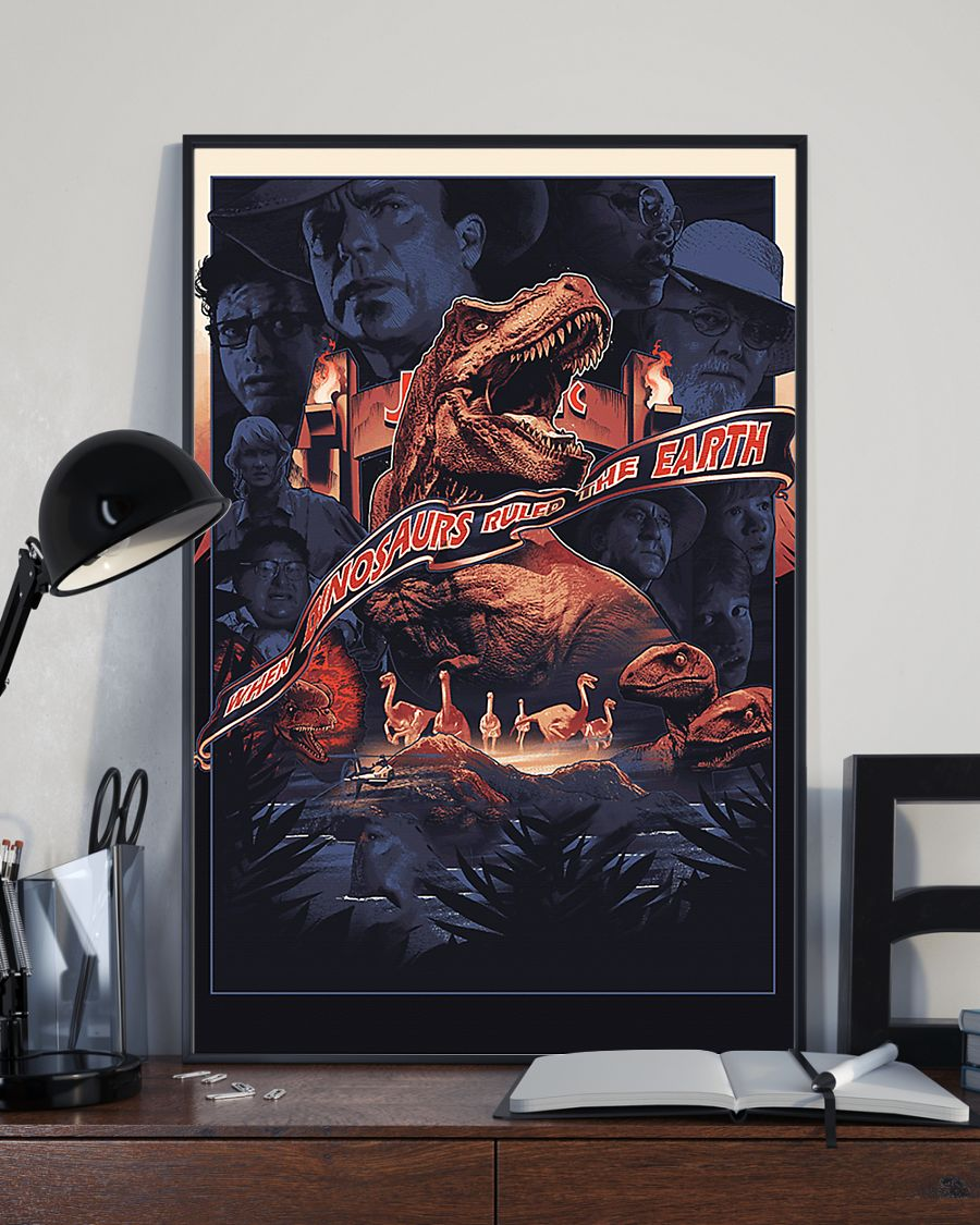 When dinosaurs ruled the earth poster 3