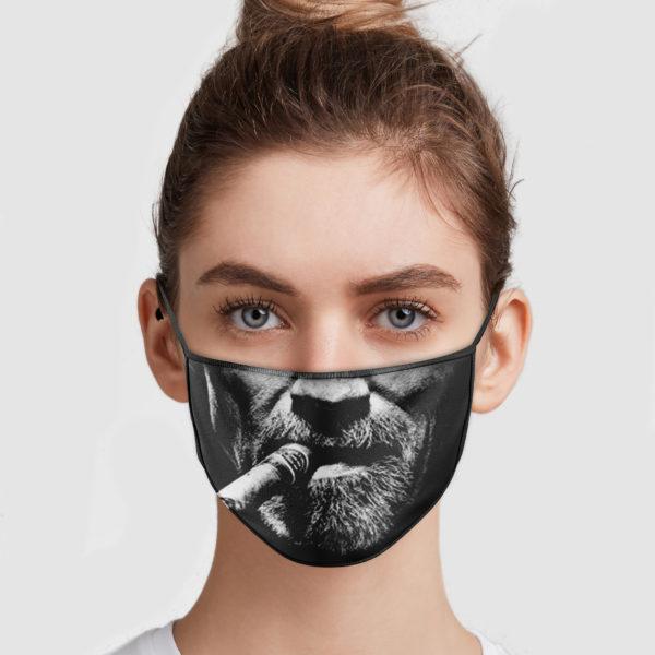 Arnold schwarzenegger cigar anti pollution face mask 1