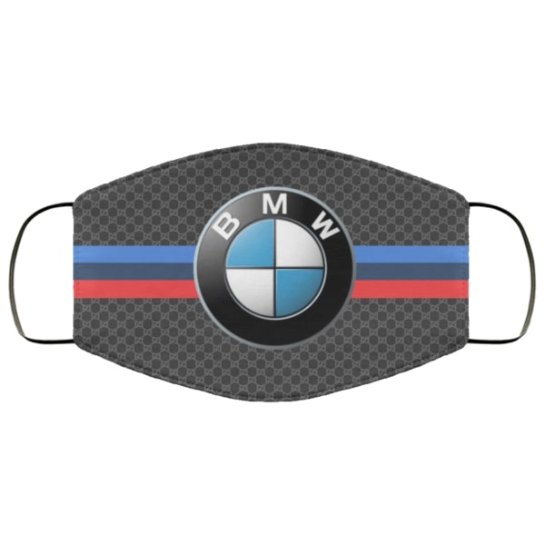 BMW symbol full over printed face mask 4