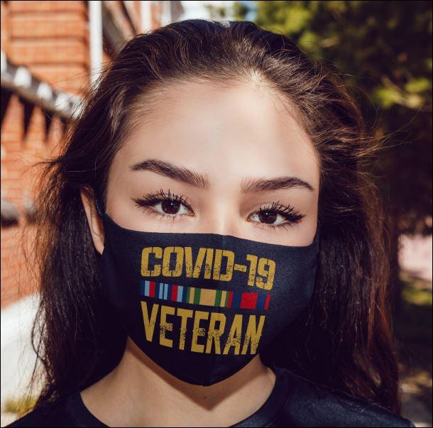 Covid-19 veteran anti pollution face mask 4