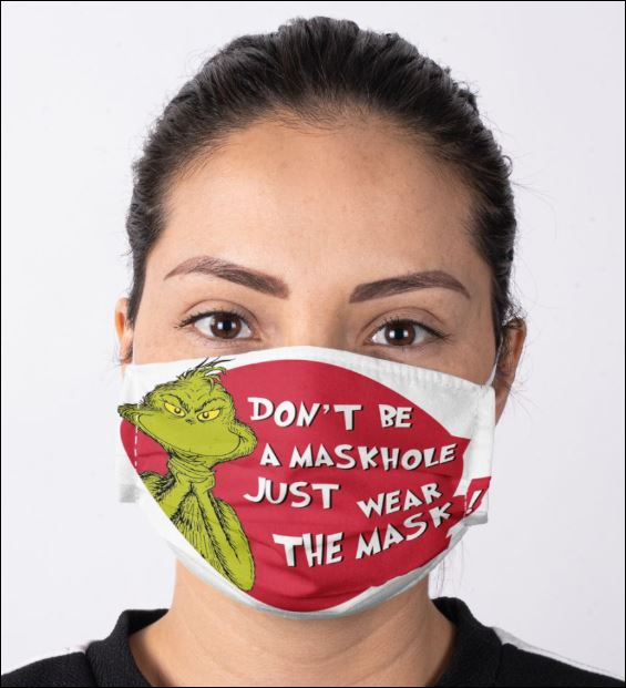 Grinch don't be a maskhole just wear the mask anti pollution face mask 2