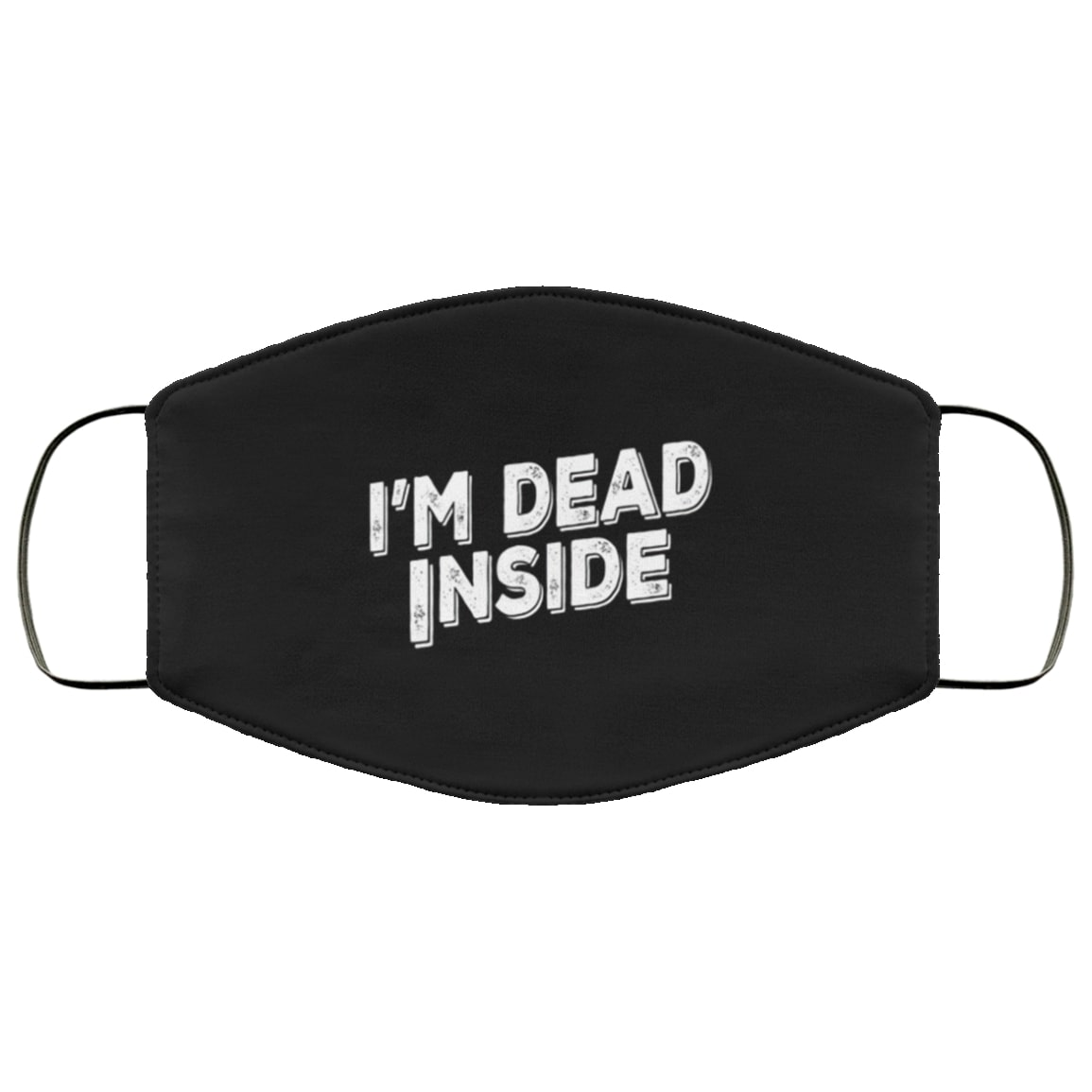 Halloween grave mortician im dead inside all over printed face mask 2