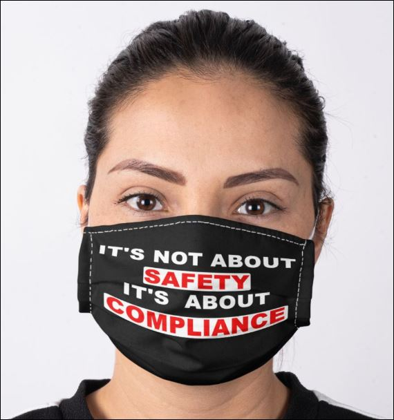 It's not about safety it's about compliance anti pollution face mask 3
