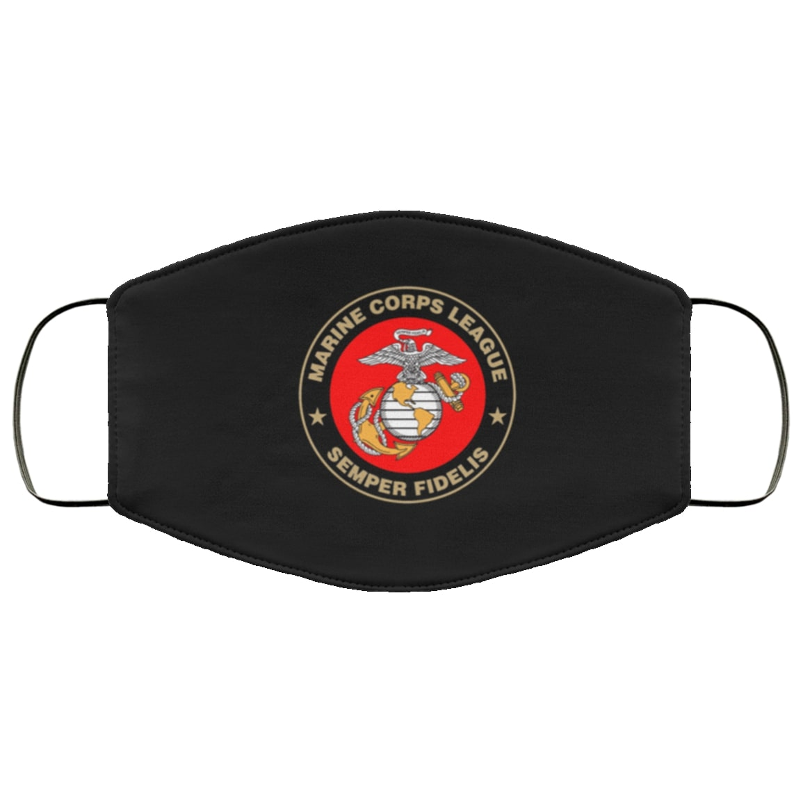 Marine corps league semper fidelis all over printed face mask 2