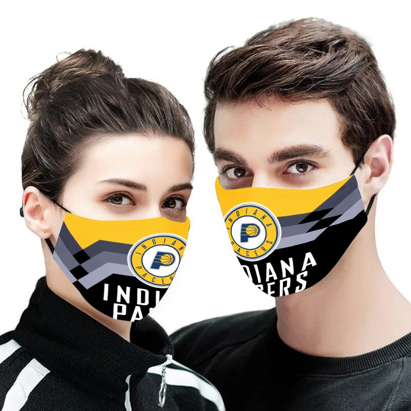 NBA indiana pacers anti pollution face mask 3