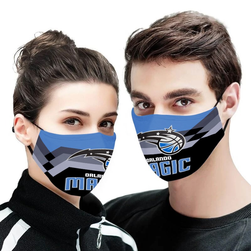 NBA orlando magic team all over printed face mask 2