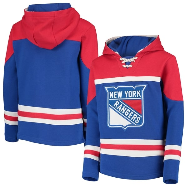 NHL new york rangers all over printed hoodie 3