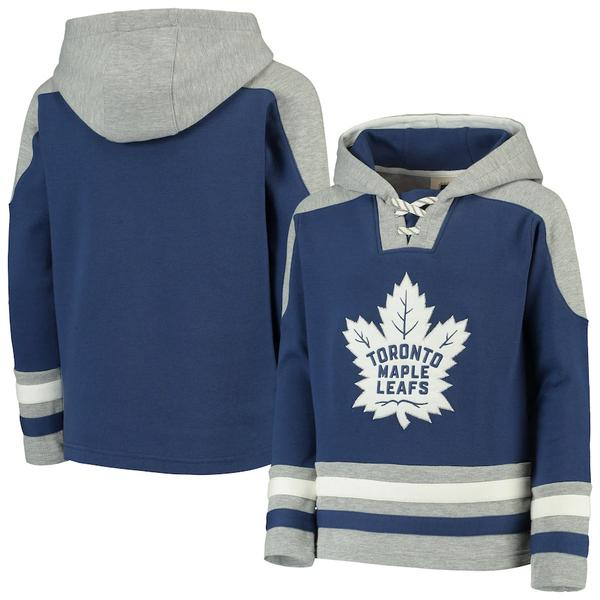 NHL toronto maple leafs all over printed hoodie 1