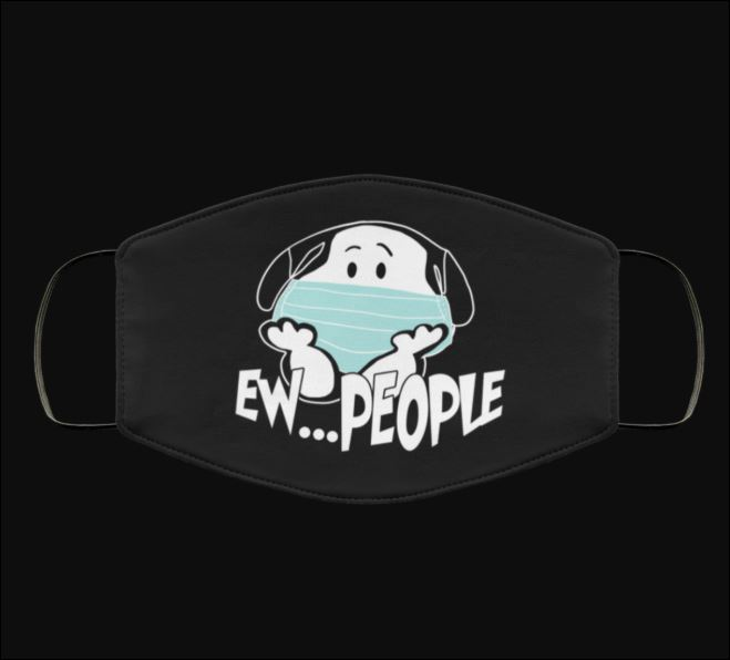 Snoopy ew people anti pollution face mask 2