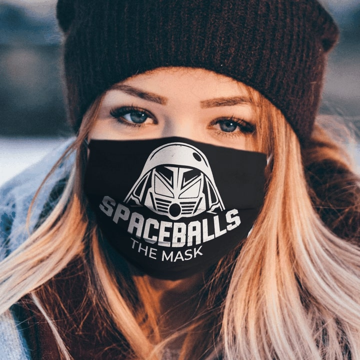 Spaceballs the face anti pollution face mask 1