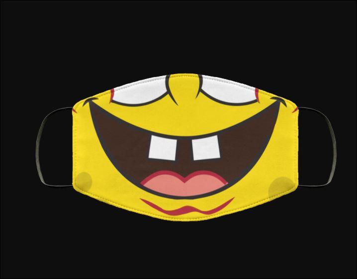 Spongebob squarepants mouth anti pollution face mask 3