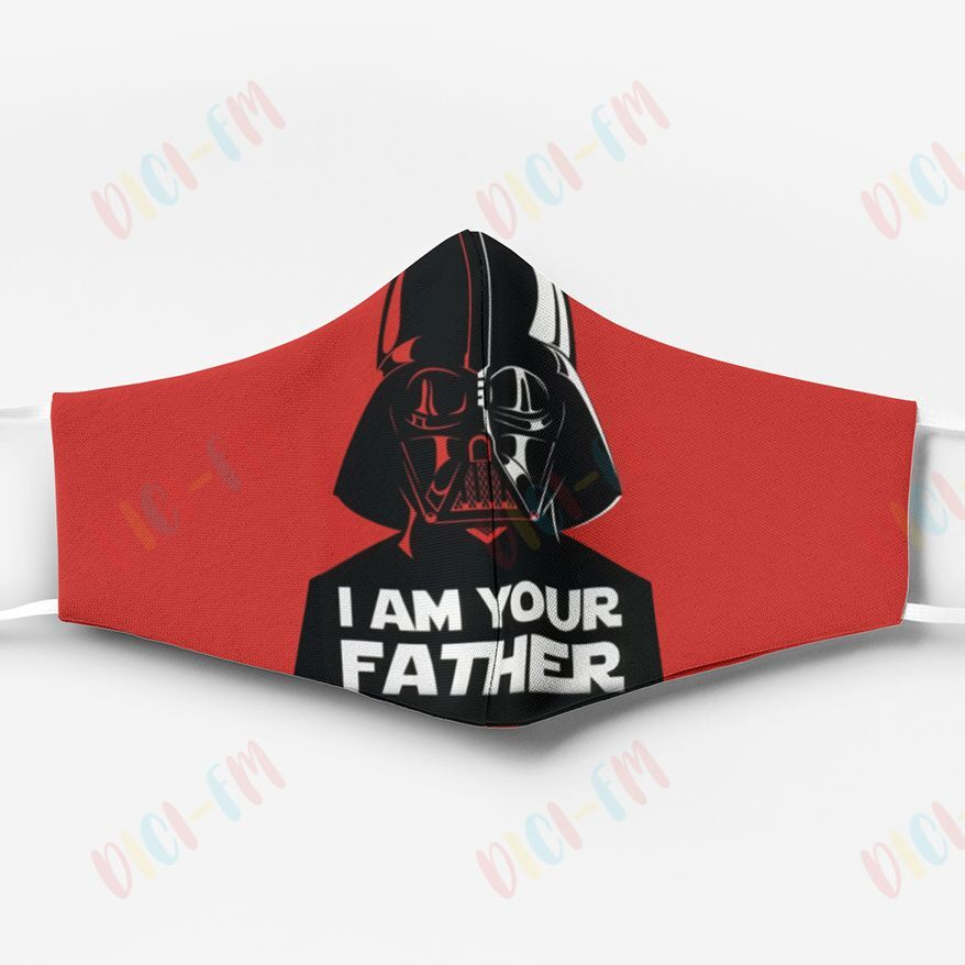 Star wars darth vader i am your father anti pollution face mask 2