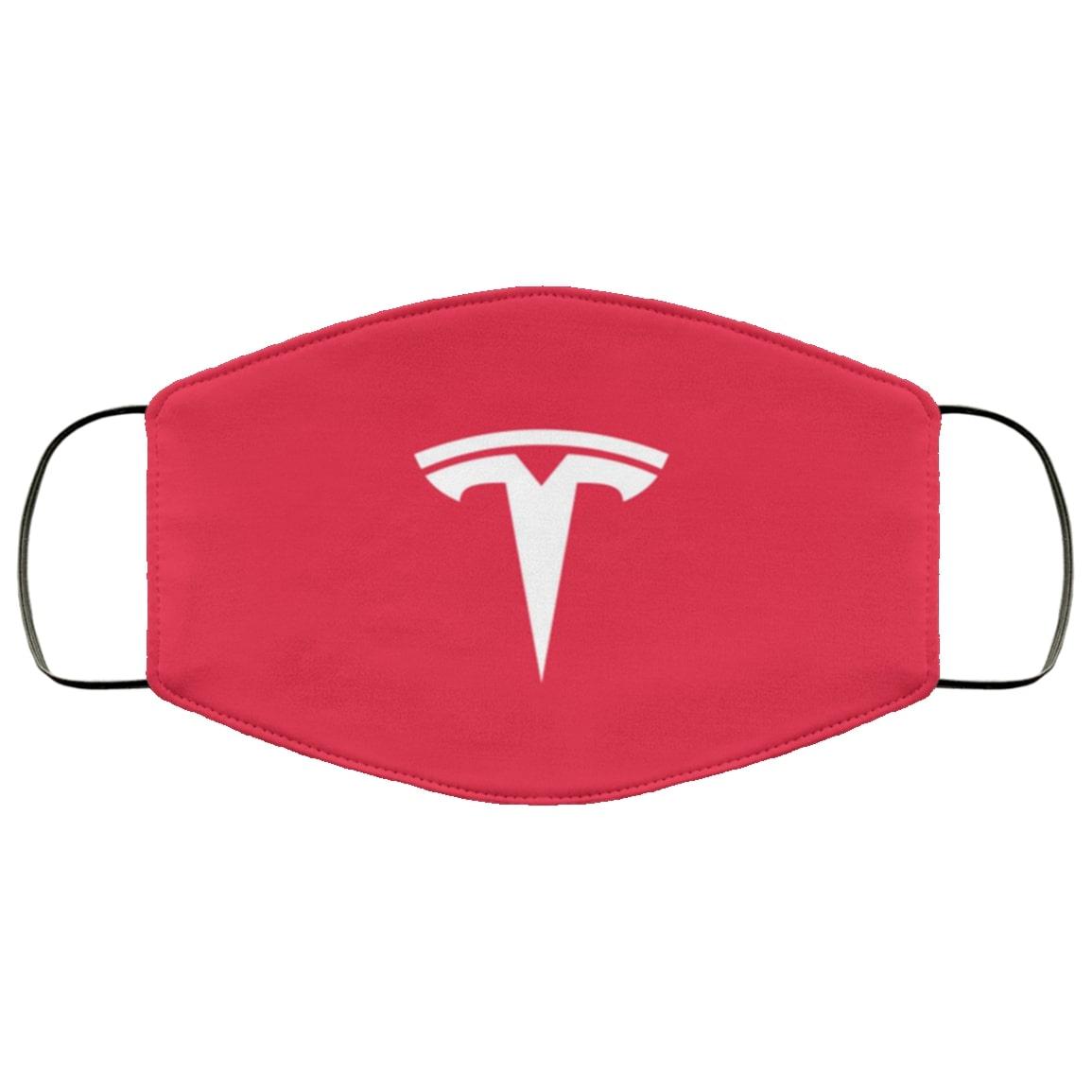 Tesla motors full over printed face mask 2