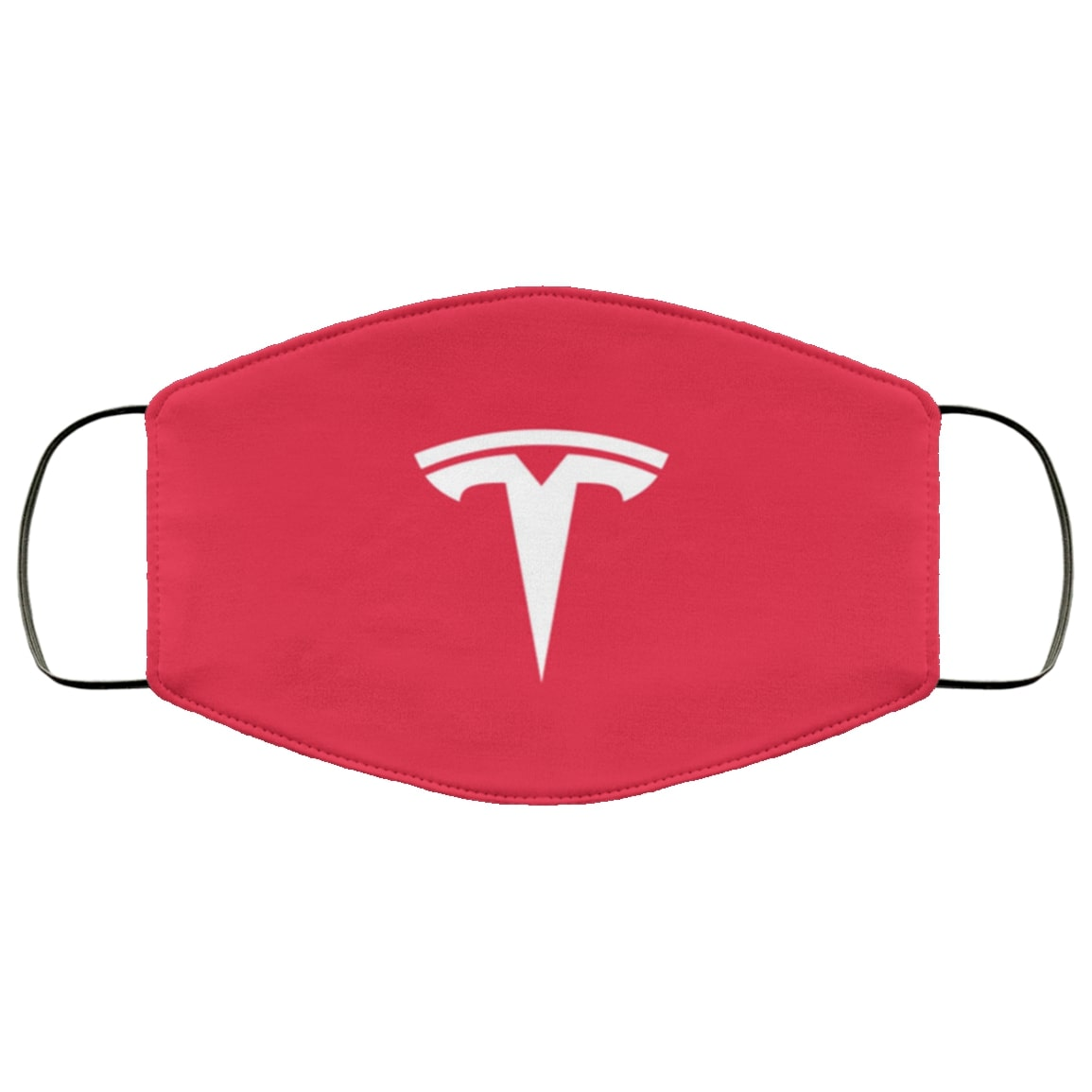 Tesla motors full over printed face mask 3