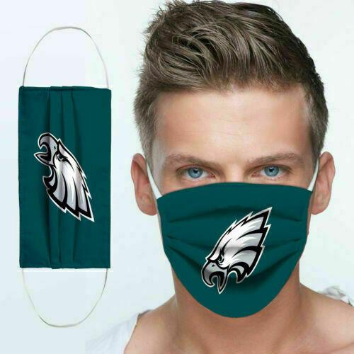 The philadelphia eagles anti pollution face mask 4