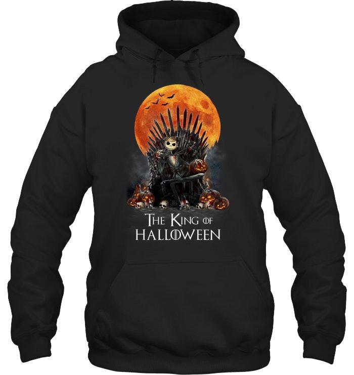 game of thrones jack skellington the king of halloween hoodie