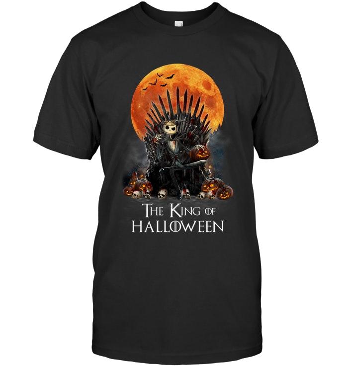game of thrones jack skellington the king of halloween tshirt
