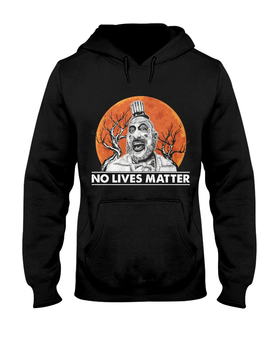 halloween captain spaulding no lives matter hoodie