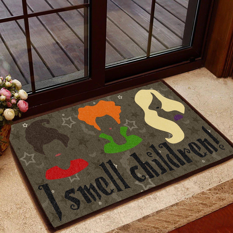 halloween i smell children hocus pocus doormat 1