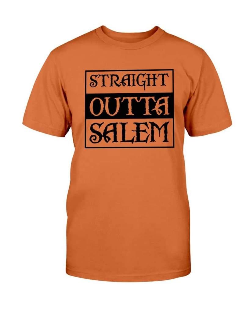 halloween straight outta salem tshirt