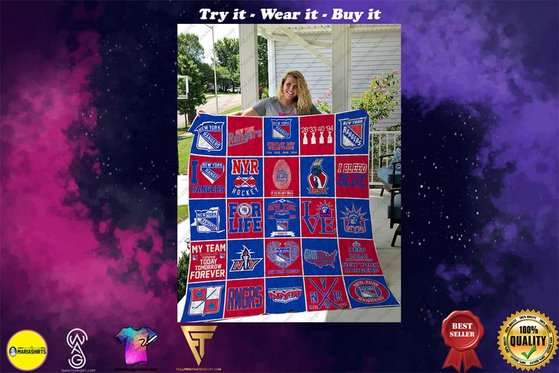 nhl chicago blackhawks full printing quilt - Copy