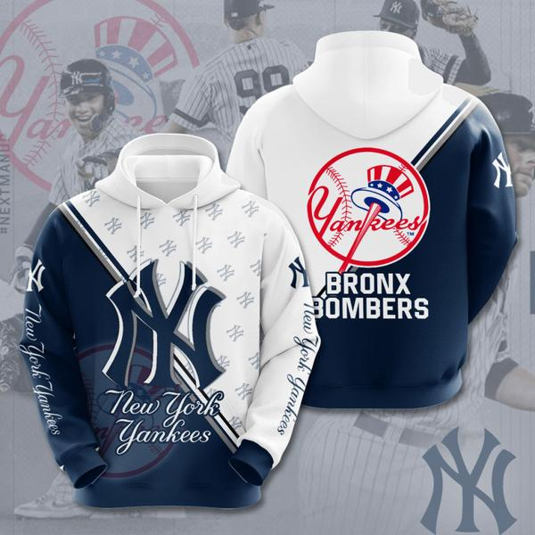 the new york yankees all over printed hoodie