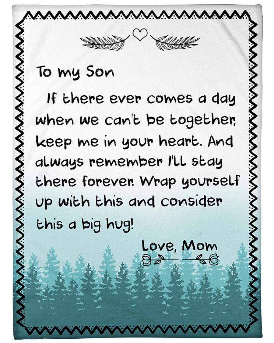 to my son love mom full printing blanket 1