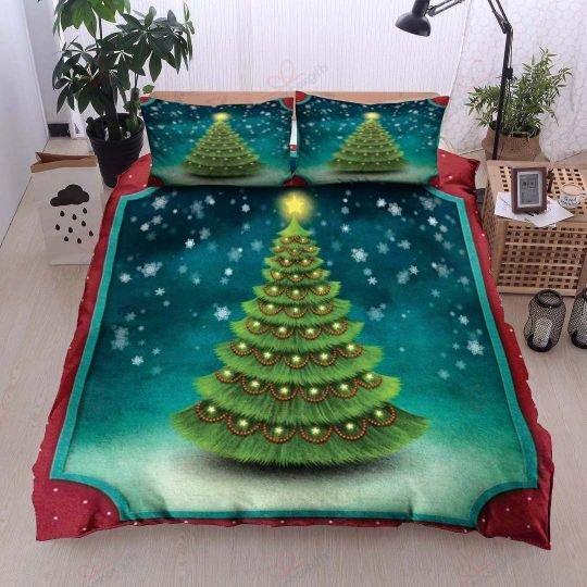 christmas tree bedding set 3