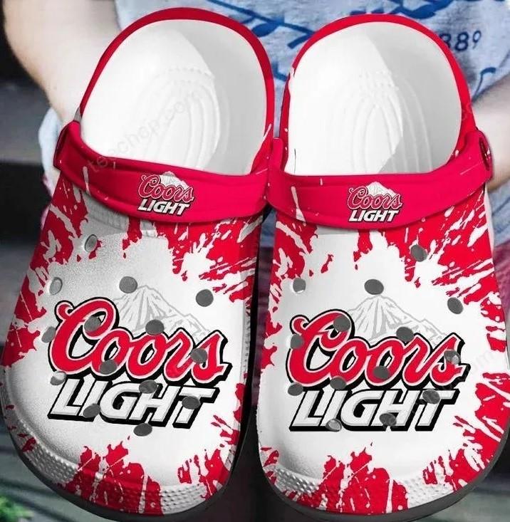 coors light beer crocs 1