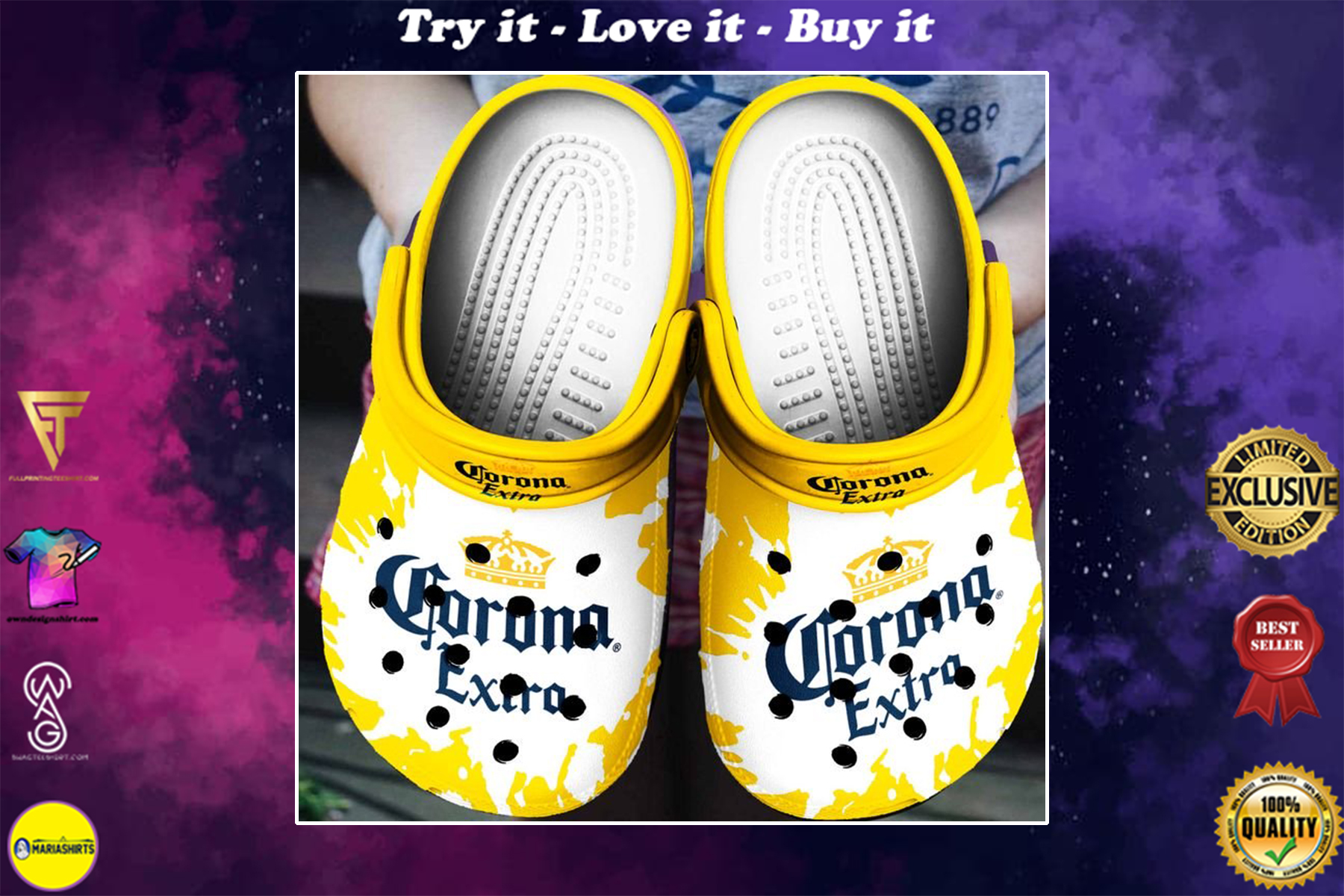 corona extra beer crocs - Copy