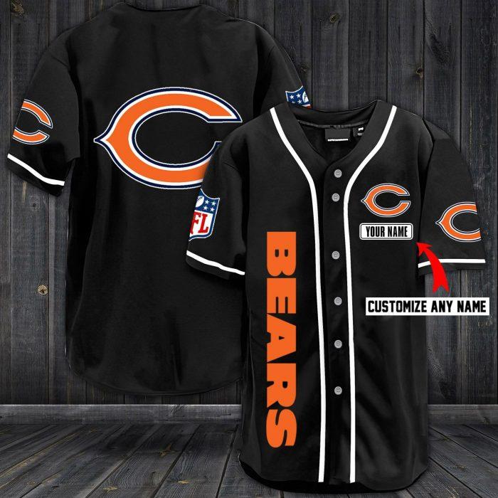 custom name jersey chicago bears shirt 1