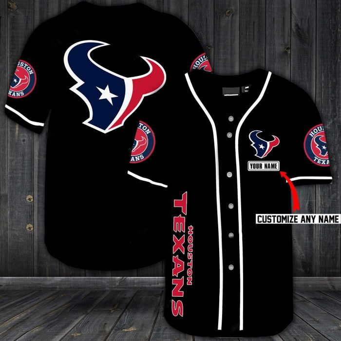 custom name jersey houston texans shirt 1