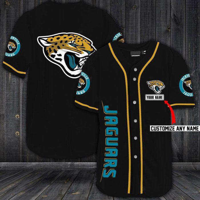 custom name jersey jacksonville jaguars shirt 1