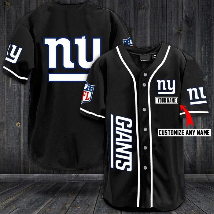 custom name jersey new york giants shirt 1