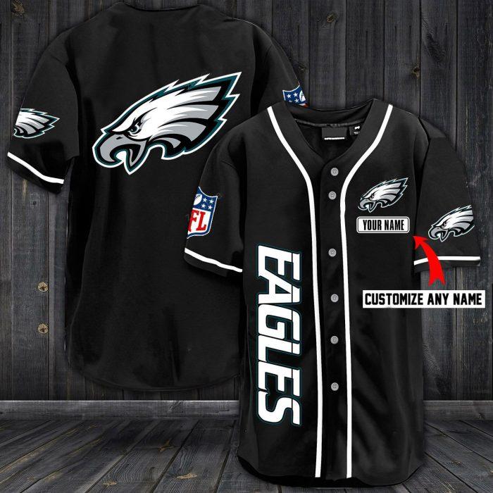 custom name jersey philadelphia eagles shirt 1