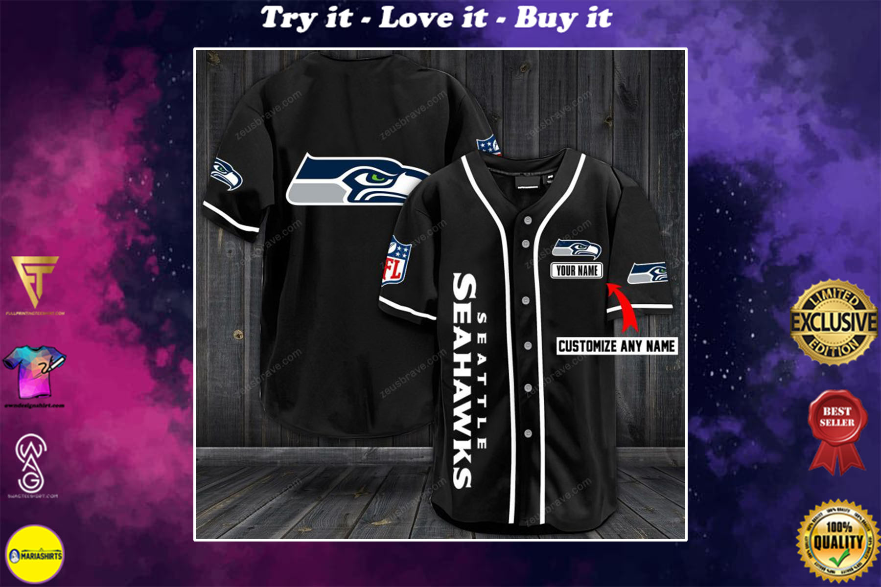seahawks limited edition jersey