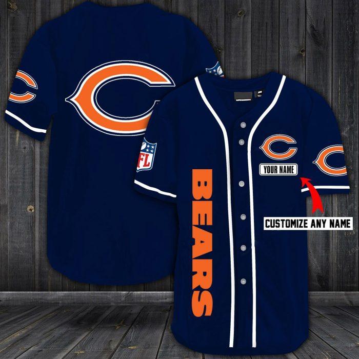customize name jersey chicago bears shirt 1