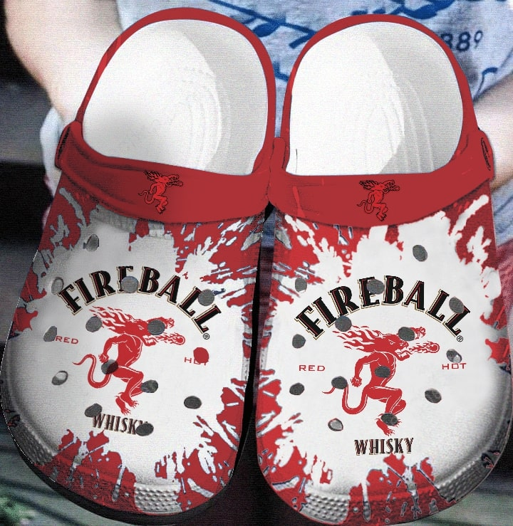 fireball cinnamon whisky crocs 1