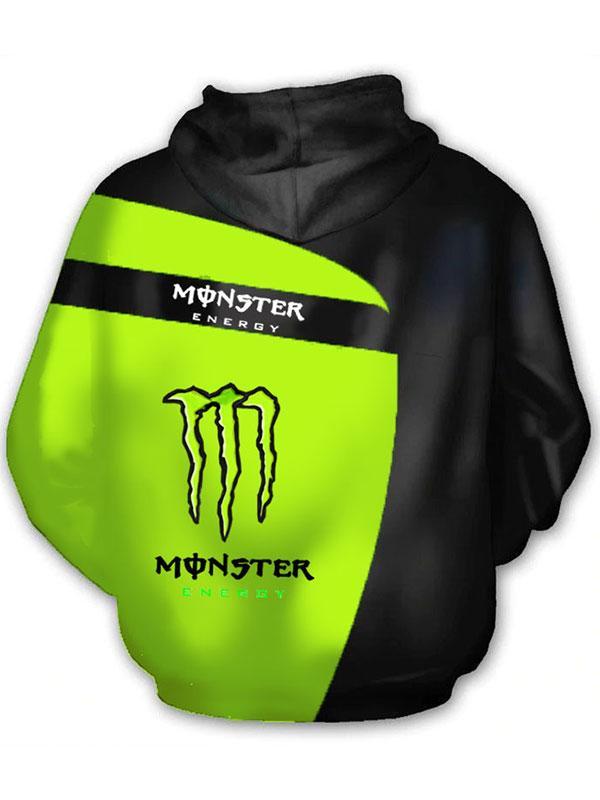 fox racing and monster energy racing sport full printing hoodie 1