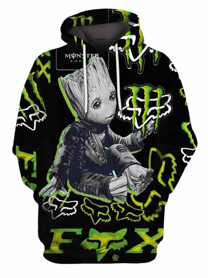 groot monster energy graphic symbol full printing shirt 1