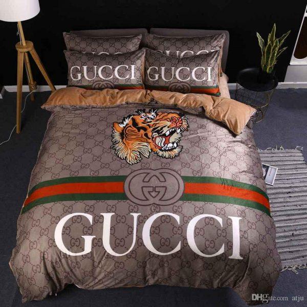 gucci tiger bedding set