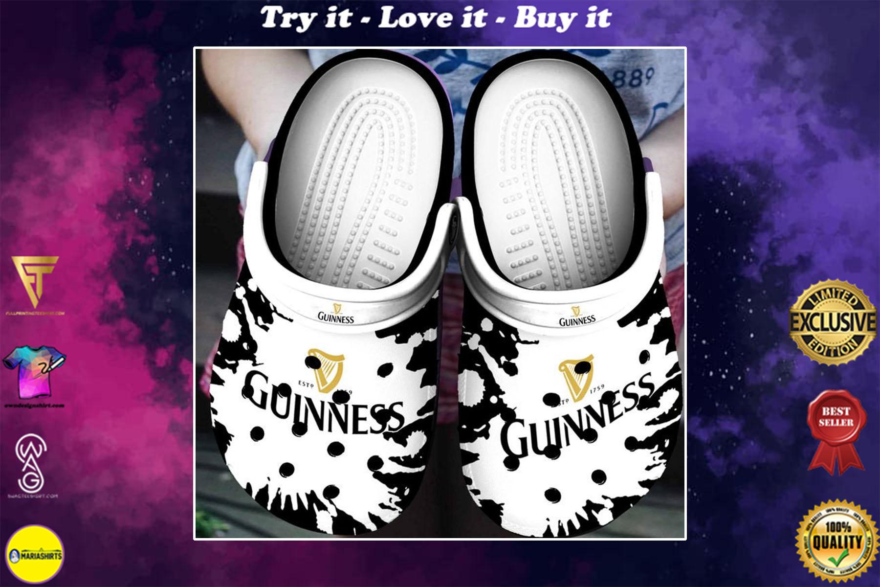 guinness beer crocs - Copy