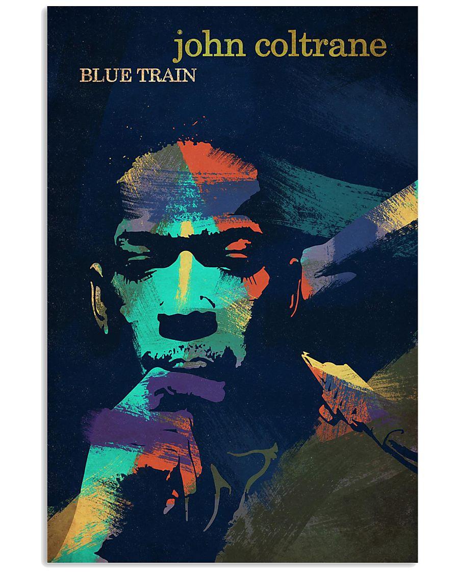john coltrane blue train watercolor retro poster 1