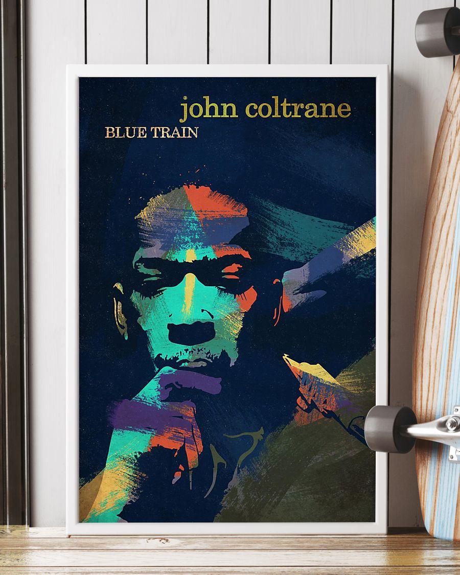 john coltrane blue train watercolor retro poster 4