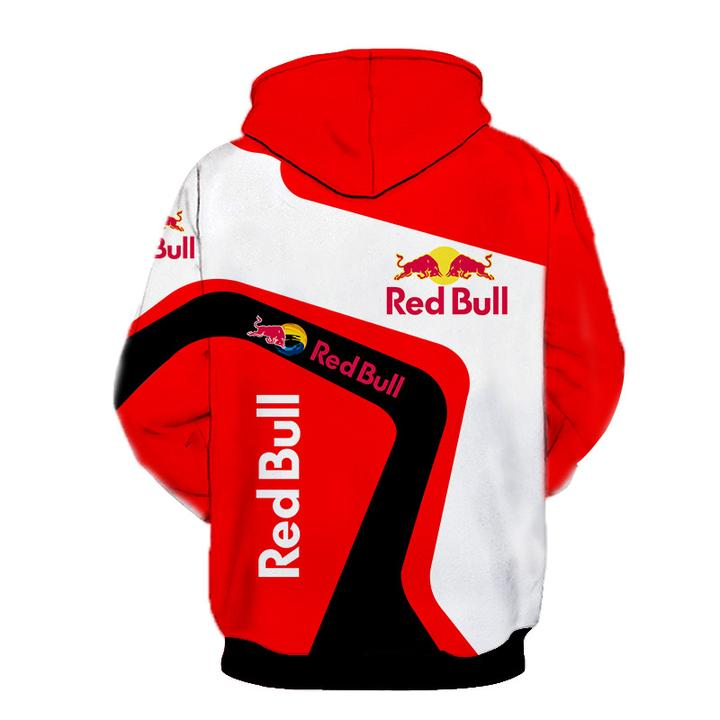 ktm redbull team motorcycle sport riding racing full printing hoodie 1