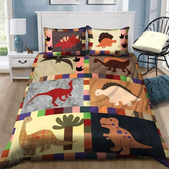 lovely baby dinosaurs bedding set 1