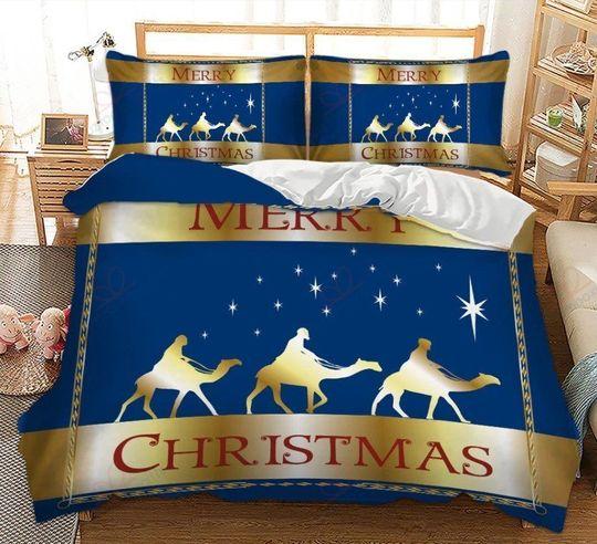merry christmas bedding set 3