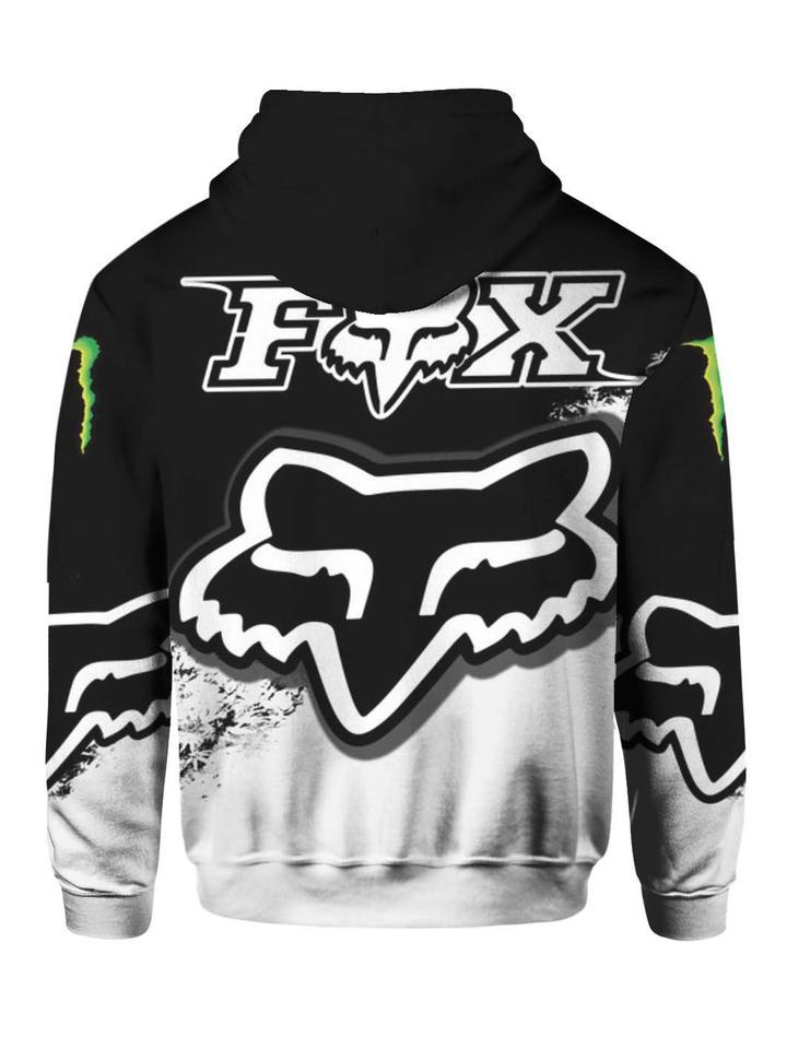 monster energy and fox racing mountain bike gear full printing shirt 1