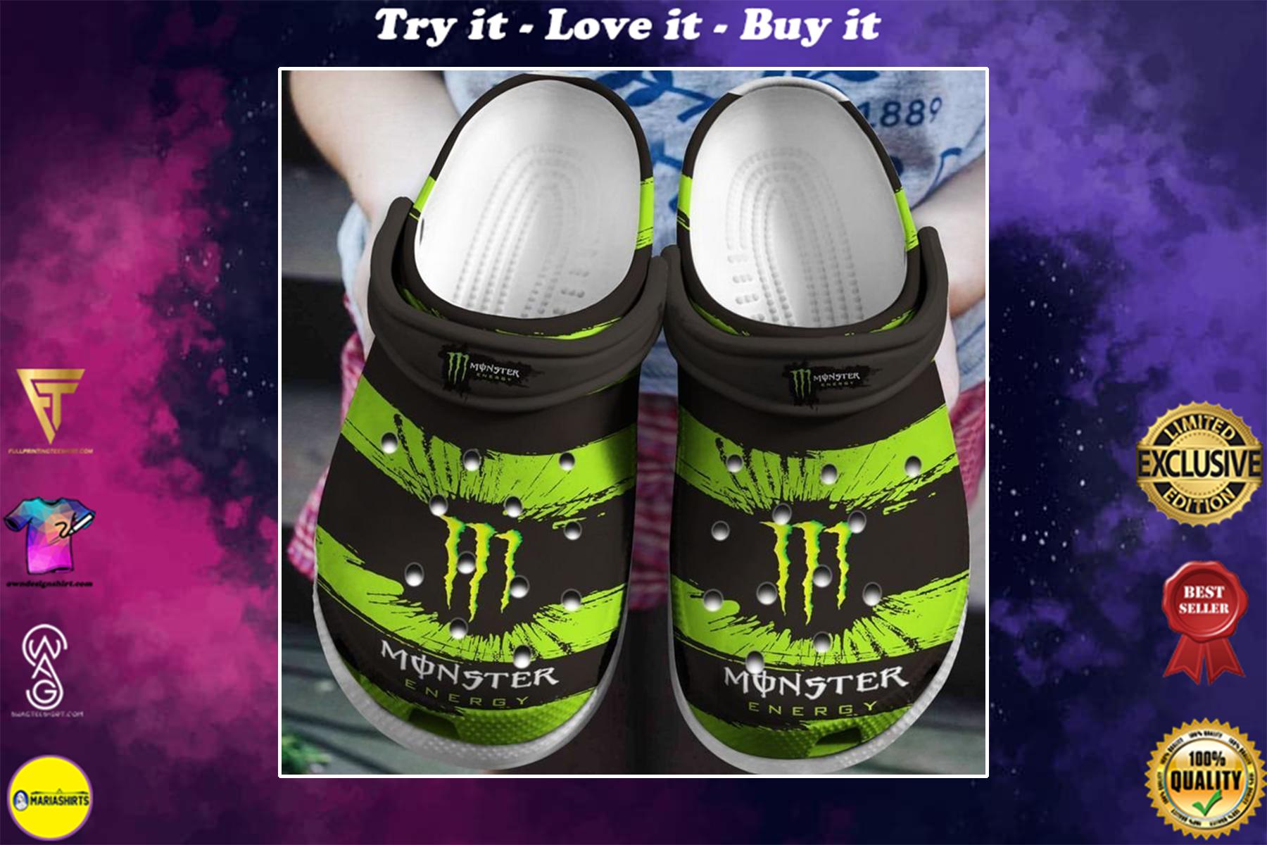 monster energy drink crocs - Copy